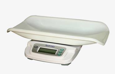 Электронные весы для детей до года